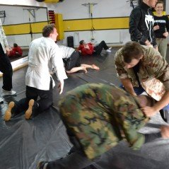 Krav Maga street ground tech.