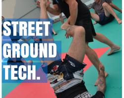 Szkolenie ulicznej walki parterowej Street Ground Tech.