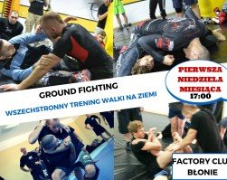 Krav maga ground fighting