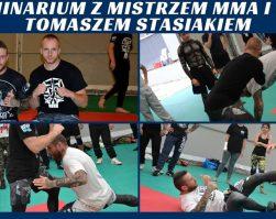 Seminarium z mistrzem MMA i BJJ Tomaszem Stasiakiem