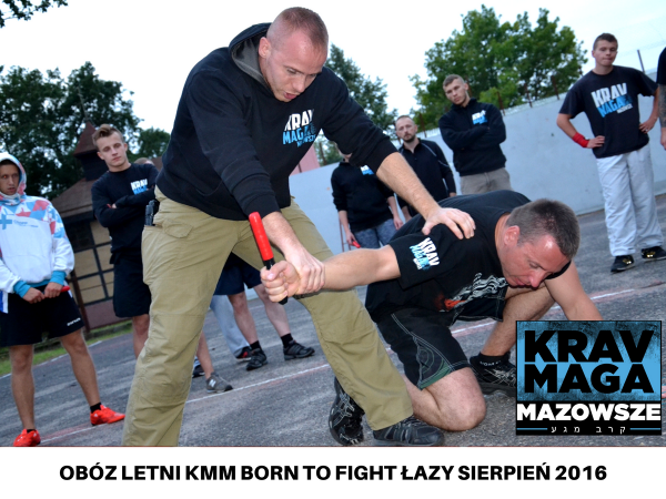 OBÓZ KMM BORN TO FIGHT ŁAZY SIERPIEŃ 2016