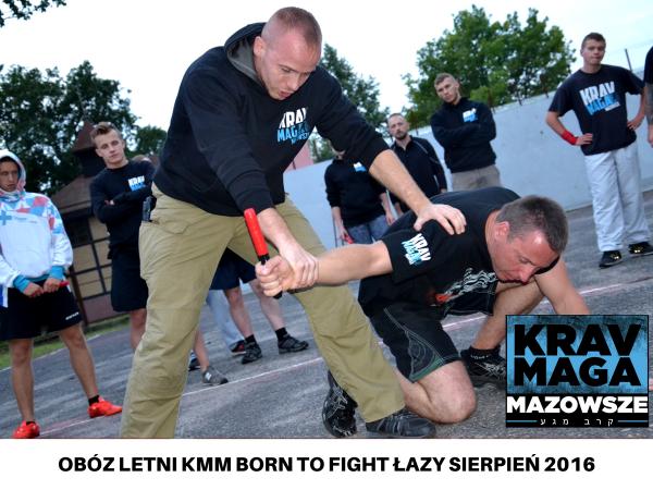 OBÓZ KMM BORN TO FIGHT ŁAZY SIERPIEŃ 2016