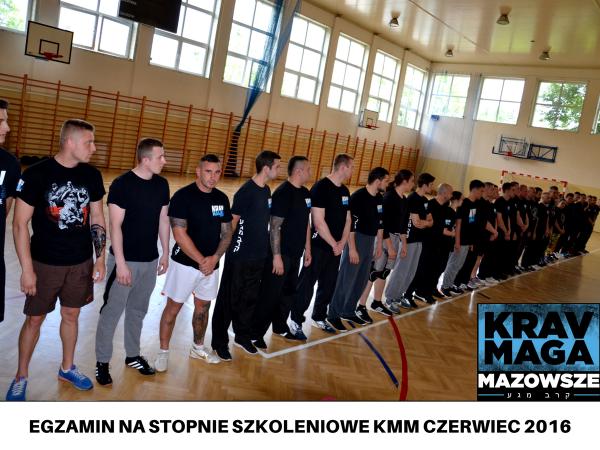 EGZAMIN NA STOPNIE SZKOLENIOWE KMM CZERWIEC 2016