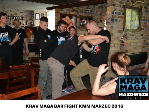 KRAV MAGA BAR FIGHT