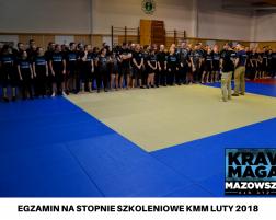 EGZAMIN NA STOPNIE SZKOLENIOWE KMM LUTY 2018