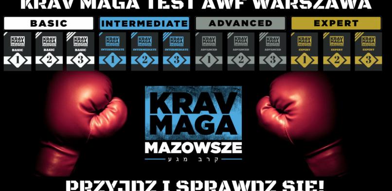 Krav Maga test KMM czerwiec 2018