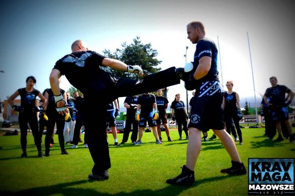 KICKBOXING DRILLS FOR KRAV MAGA KWIECIEŃ 2018