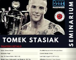 Seminarium Street Ground Tech & MMA for KM z Tomkiem Stasiakiem – 21-22 marca 2020