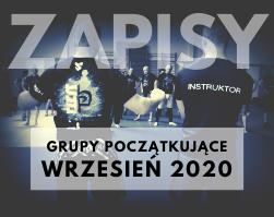 Nabór do grup WRZESIEŃ 2020