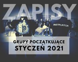 Powrót do treningów i nabór do grup STYCZEŃ 2021