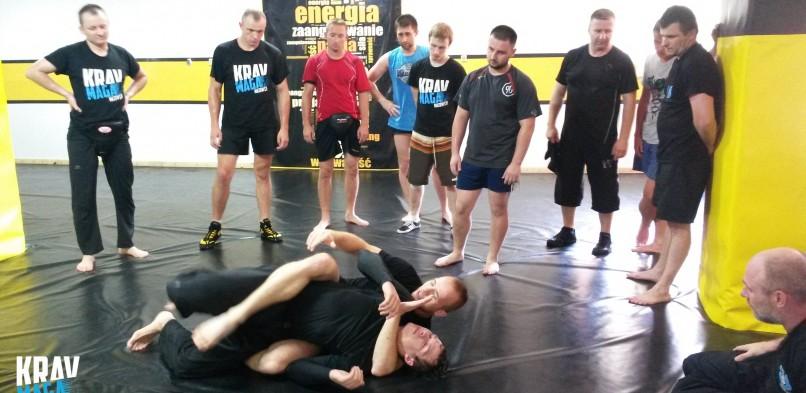 Seminarium z walki w parterze-Factory Club Błonie