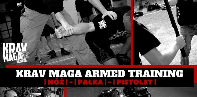 Seminarium Andrzeja Gross (Krav Maga Armed Training) w Berserker's Team Stargard