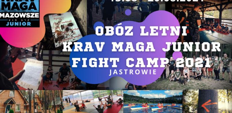 Obóz letni KMM FIGHT CAMP JUNIOR – sierpień 2021